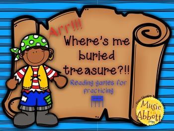 Find Me Buried Treasure: Two Games for Practicing tika-tik