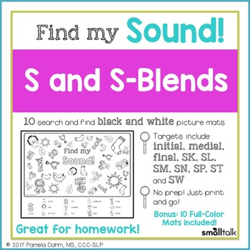 Find My Sound: S and S-Blends