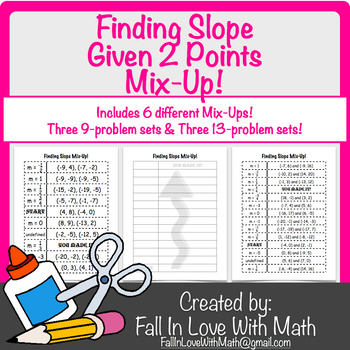 Find Slope from 2 Points Mix-Up!