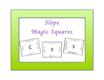 Slope Magic Squares 8EE6