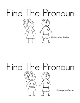 Find The Pronoun