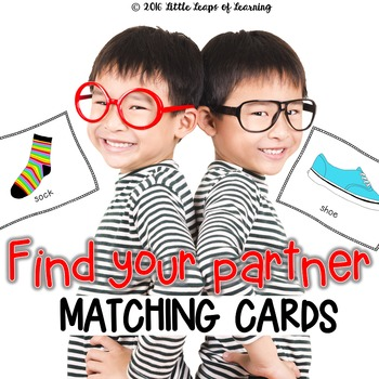 Find Your Partner - Matching Cards
