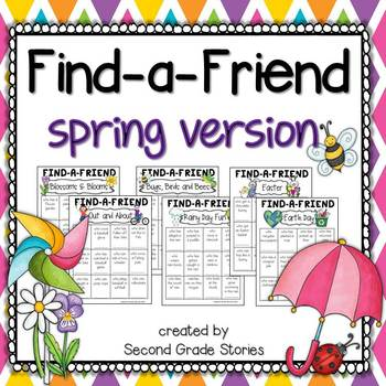 Spring Games ~ Find a Friend