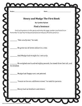 Find a Sentence Journeys 2nd Grade Unit 1