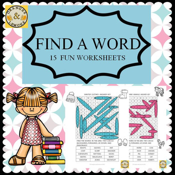 Find a Word - Great Activity for Early Finishers