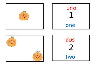 Find a match Numbers 1-12