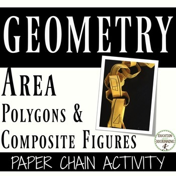 Find the Area of Polygons and Composite Figures Paper Chai