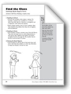 Find the Clues (Book Report Form)