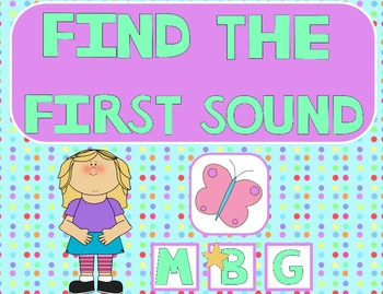 Find the First Sound Flipchart for ActivInspire