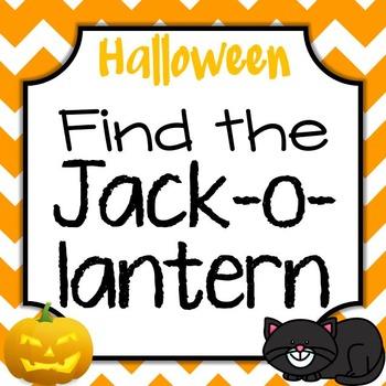Halloween Find the Jack-o-Lantern