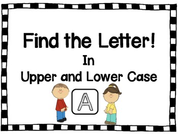 Find the Letter- A