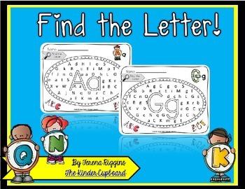 Find the Letter! { alphabet identification }