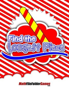 Find the Longest Piece {Measurement Activity}