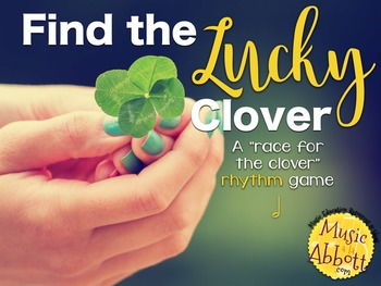 Find the Lucky Clover Rhythm Game {half note}