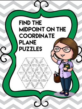 Find the Midpoint on The Coordinate Plane Puzzle