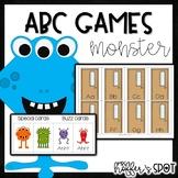 Monster Alphabet Game