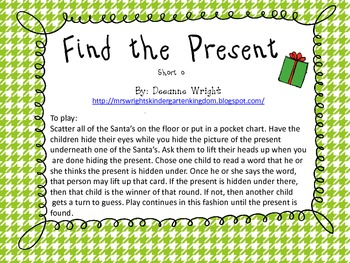 Find the Present-Short o