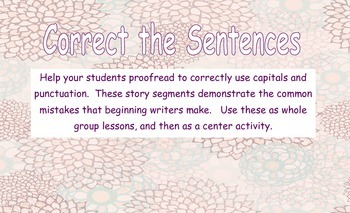 Find the Sentence: Correcting Run-on Sentences practice