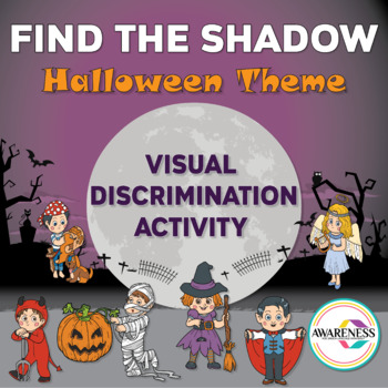 Find the Shadow; Halloween Theme ( Visual Discrimination A