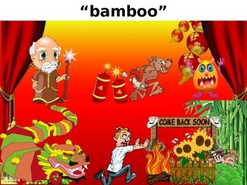 Find the Vocabulary Game, Game, Chinese New Year