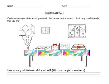 Find the hidden Quadrilaterals!