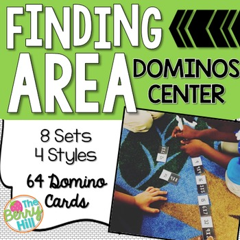 Finding Area Center Activity - Dominos