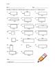 Finding Area Fluency Sheets - 3rd Grade CCSS Math - Timed