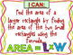 Finding Area {Interactive Power Point} Using L x W {Revise