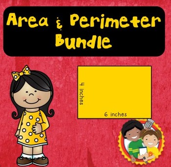 Finding Area and Perimeter Bundle