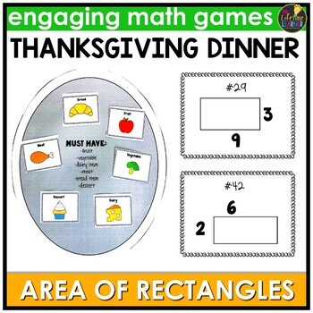 Finding Area of Rectangles Game