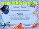 Finding Dory Achievement Award English & Spanish version E