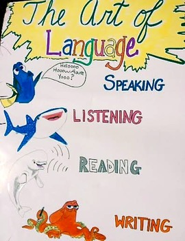 Finding Dory Language Arts Poster