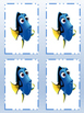 Finding Dory Subtraction Math Flash Cards