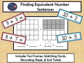 Finding Equivalent Number Sentences