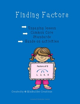 Finding Factors Lesson Plan and Activitity