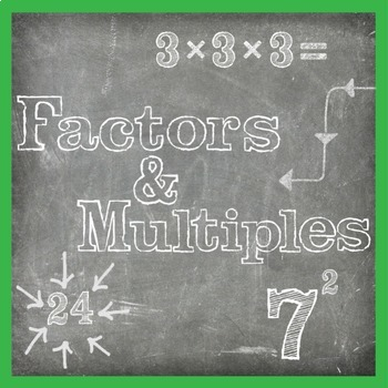 Finding Factors and Multiples