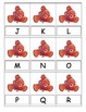 Finding Nemo Upper and Lower Case Letter Cards