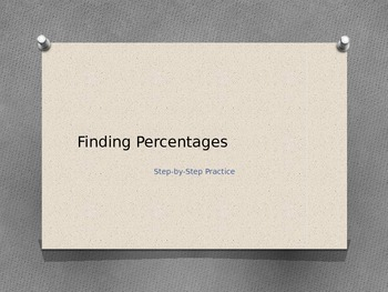 Finding Percentages: Step by Step Practice
