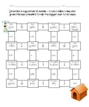 Finding Probability Maze