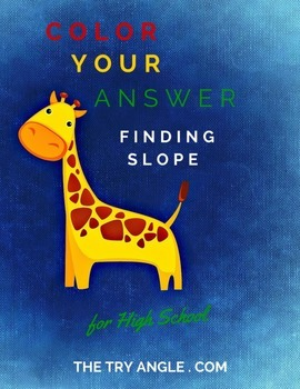Finding Slope - Color Your Answer