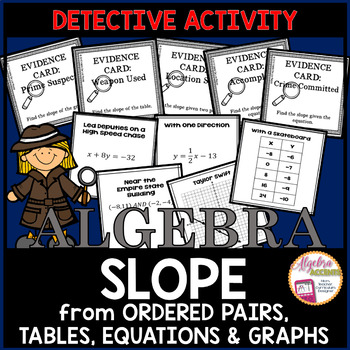 Slope Detective Activity