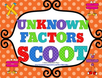 Finding Unknown Factors Scoot