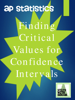 Finding Z-Critical Values for Confidence Intervals