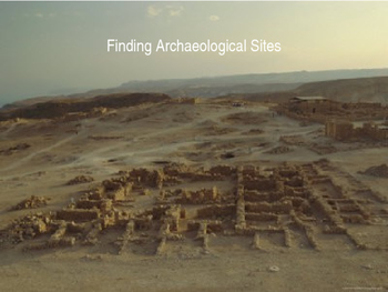 Finding an Archaeological Site