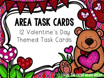 Finding the Area: Valentine's Day Themed