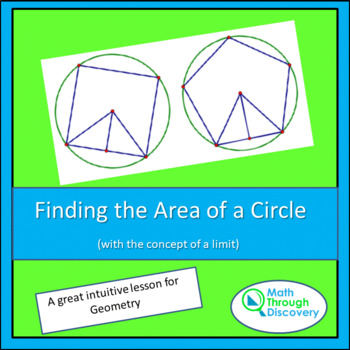 Finding the Area of a Circle using Limits