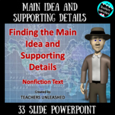 Main Idea and Supporting Details PowerPoint Lesson