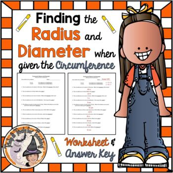 Finding the Radius and Diameter when Given the Circumferen