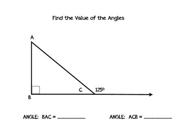 Finding the Value of a Angle