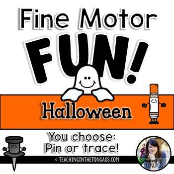 Fine Motor Activities (Halloween)